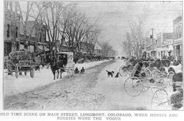 Longmont colorado time