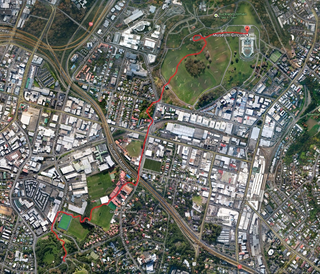 8 volcanic hills from auckland domain to mt albert city for Eden hill walk in