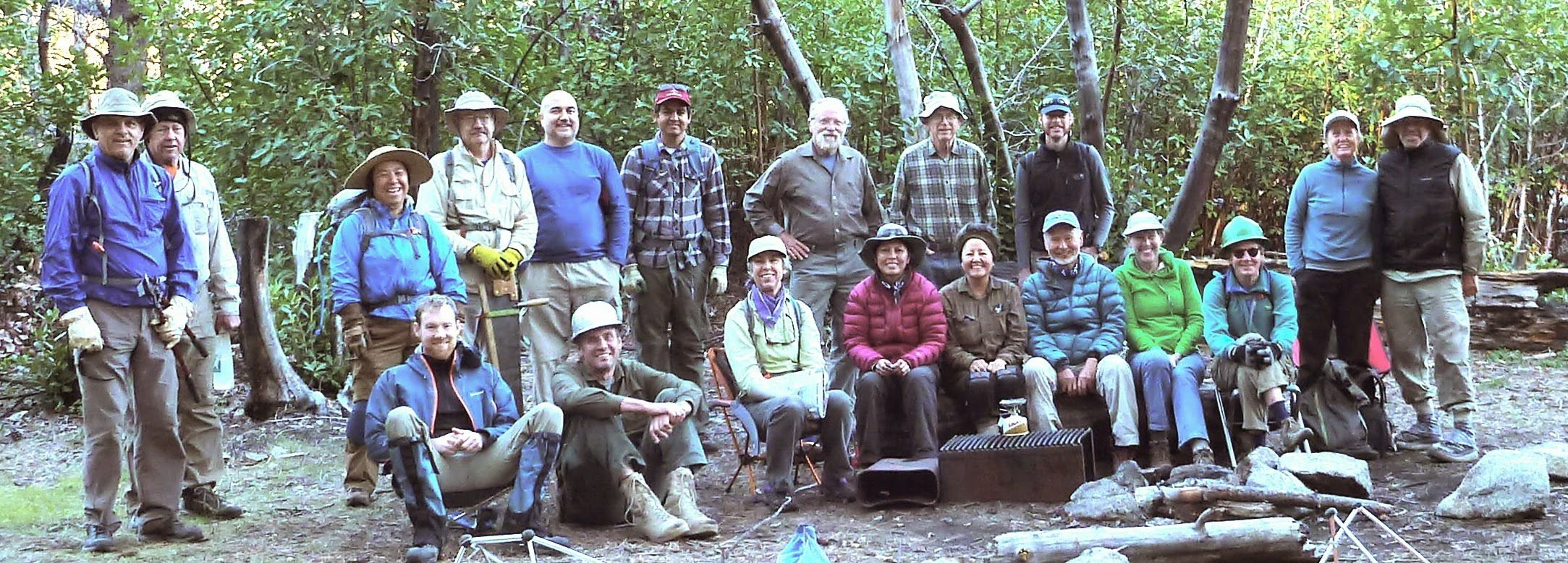 Car Camping Trail Crew Weekend at Memorial Pa