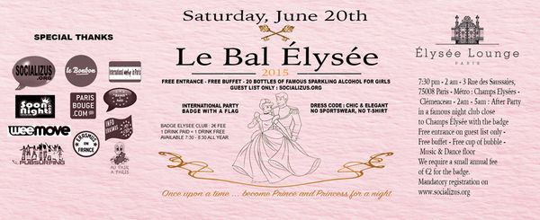 600 438847003 - Bal Elysée..once upon a time