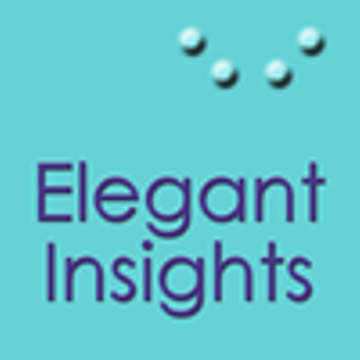 Elegant Insights logo with Braille dots