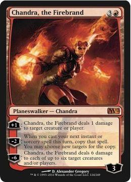 Chandra the Firebrand Card
