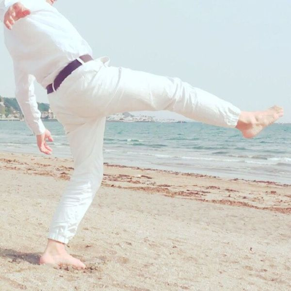 Workout with Capoeira movement