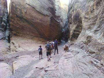 Slot canyons near grand junction co