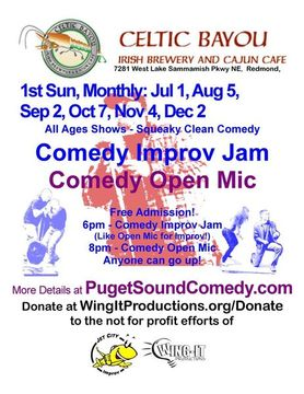 After the Improv Show, sit back and Enjoy Local Seattle Pro and Amateur ...