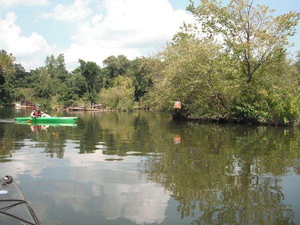 Kayak orienteering