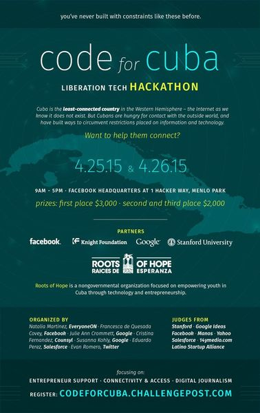 Roots of Hope : Code for Cuba Hackathon @ New York | United States