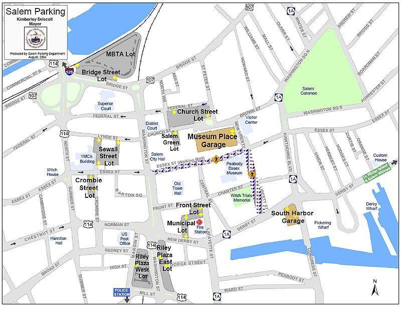 downtown salem oregon map