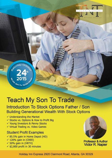 Teach me option trading