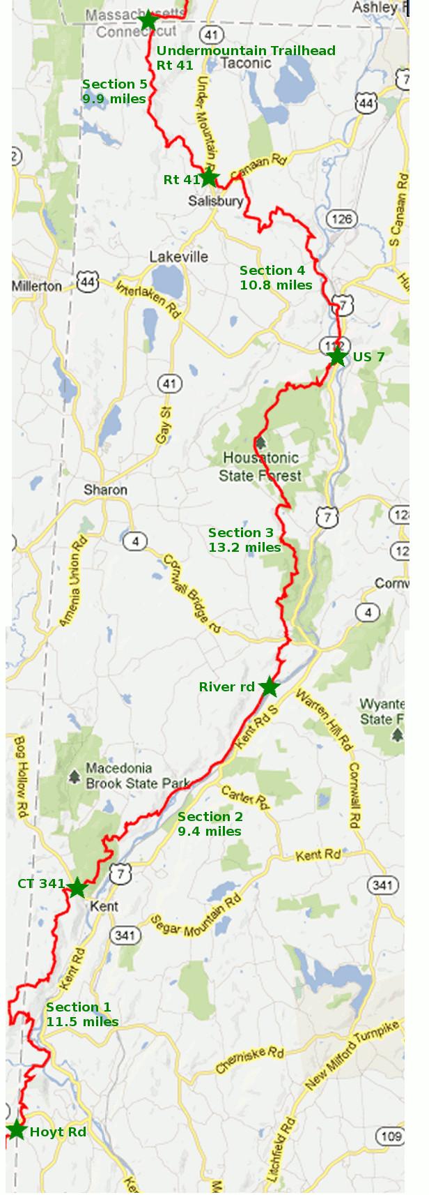 Connecticut Appalachian Trail Part 4  RI Outdoors