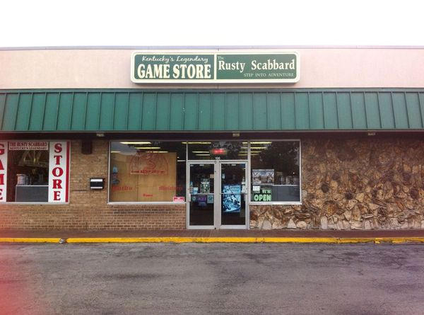 The Rusty Scabbard Game Store - Lexington KY