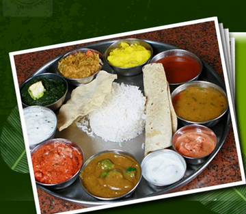 Delicious south indian vegetarian buffet lunch indian for Annapurna cuisine los angeles
