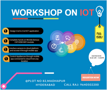 Win iot hardware kit for free robotics iot hyderabad this time we are back again with another one day complete hands on workshop on internet of things sept 4th 2016we are really exited with the success of m4hsunfo