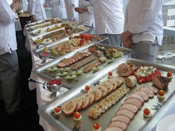 A Grand Buffet (for Food Snobs) at Kendall College of Culinary ...