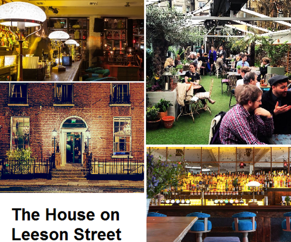 Saturday Drinks and Dancing at The House on Leeson Street @ The House | Dublin | Dublin | Ireland