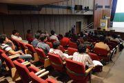 Gaurav presenting his Talk