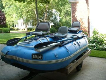 2004 star wonder bug fishing river raft for sale for Fly fishing raft for sale