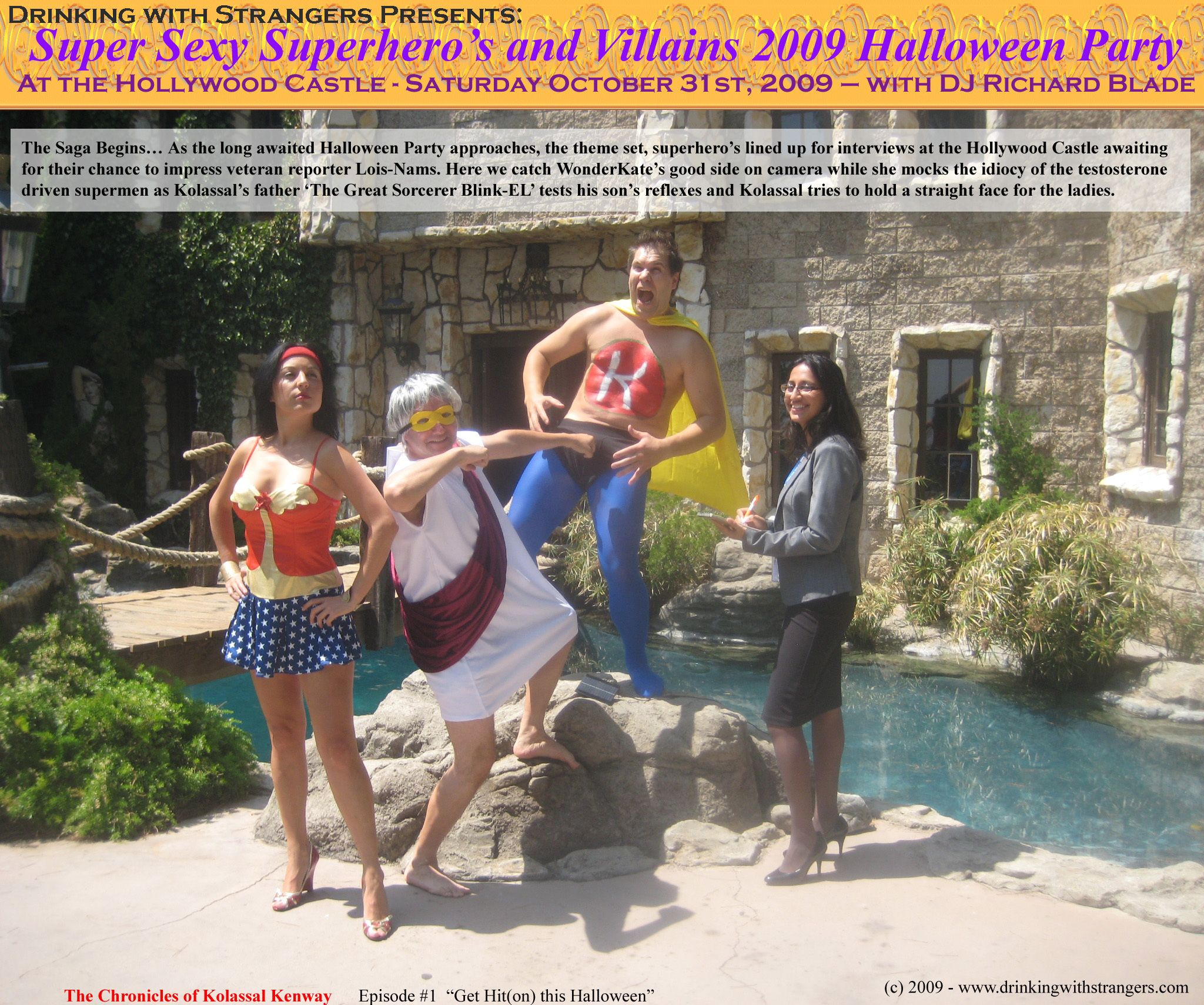 DWS - Super Sexy Superhero Castle Halloween Party with DJ Richard ...