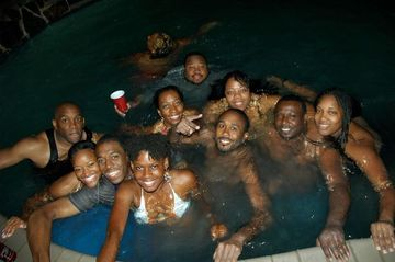 The Meetup Luau Pool Amp House Party African American