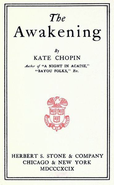 an analysis of three important events in the novel the awakening by kate chopin The awakening by kate chopin  create a timeline of the ten most important events from the novel  focusing on edna's time in one of the three settings .