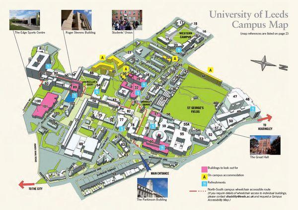 University of leeds strategy map
