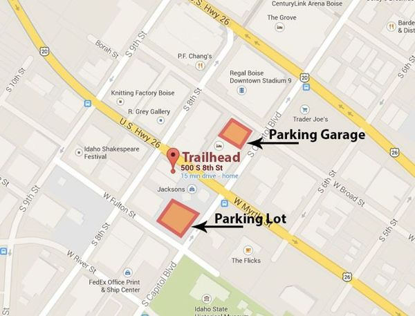 Event location and parking