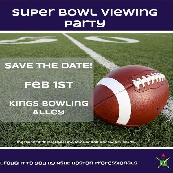 Annual Super Bowl Viewing Party! @ King's Boston | New York | MA | United States