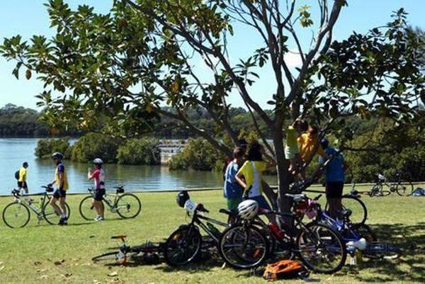 Cycling Olympic Park Picnic BBQ