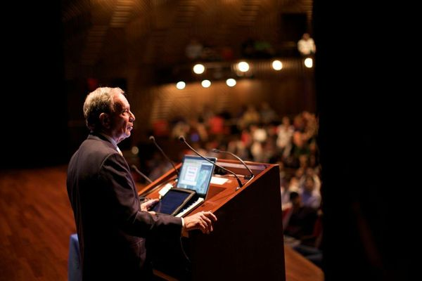 Mayor Bloomberg at New York Tech Meetup