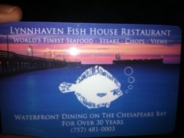Thanks for giving with the incredible jonny waters for Lynnhaven fish house