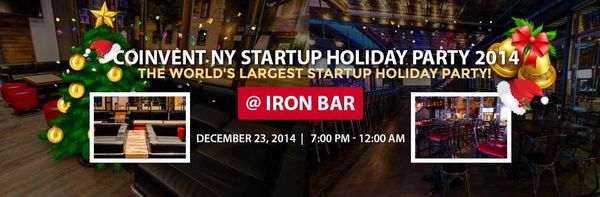 The World's Largest Startup Holiday Party @ New York | United States