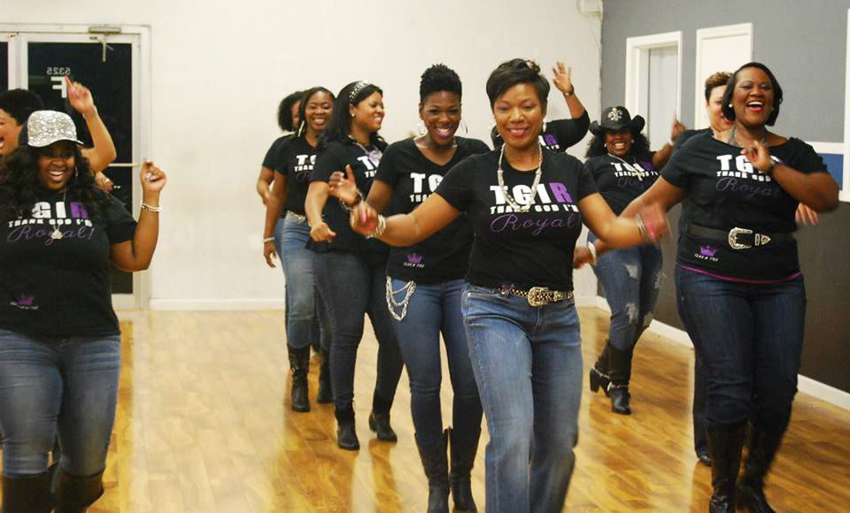 Photos the line dance queen 39 s workout and social group for Houston social groups