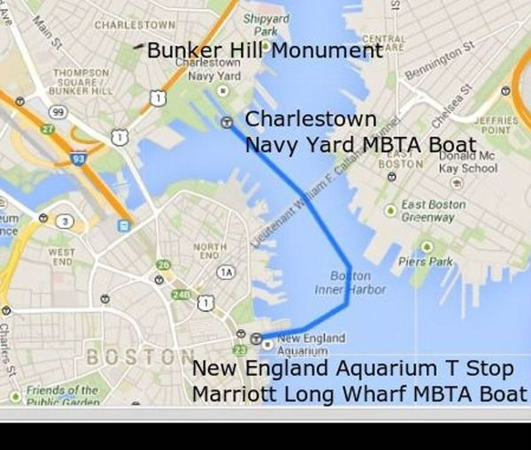 Bunker Hill Monument Inner Harbor Ferry Amp Warren Tavern