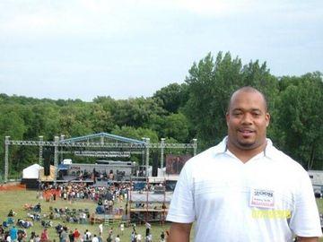 Anthony Smith at Cornerstone Festival 2008