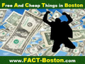 Free And Cheap Things in Boston